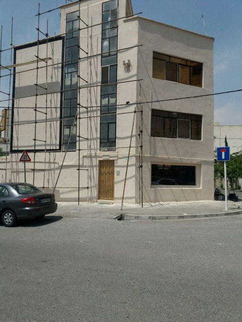 اجرای کنیتکس در نمای خارجی ساختمان