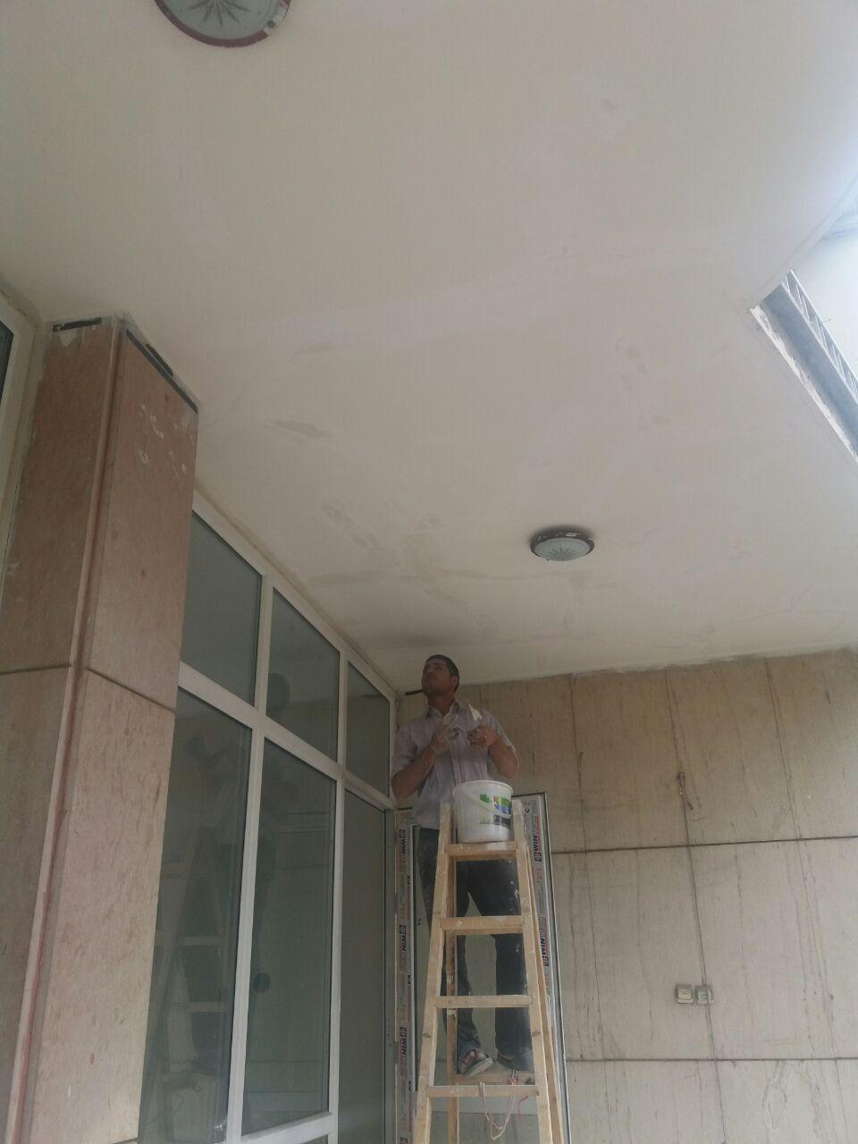 اجرای کنیتکس بر نمای سقف